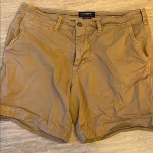 "American Eagle Men's extreme flex shorts 35"""